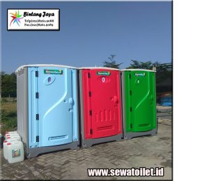 Jasa Perentalan Toilet Portable murah lengkap Jabodetabek
