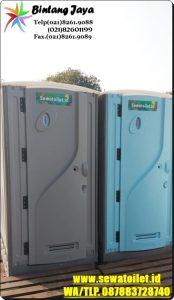 Toilet Portable Disewakan Murah Meriah