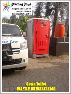 Menyewakan Toilet Portable