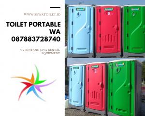 Promo Sewa Toilet Portable Bekasi