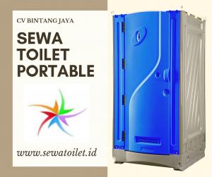 Sewa Toilet Portable Modern | Kota Bekasi