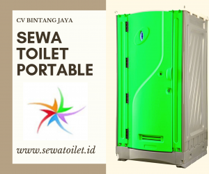 Toilet Portable Hijau