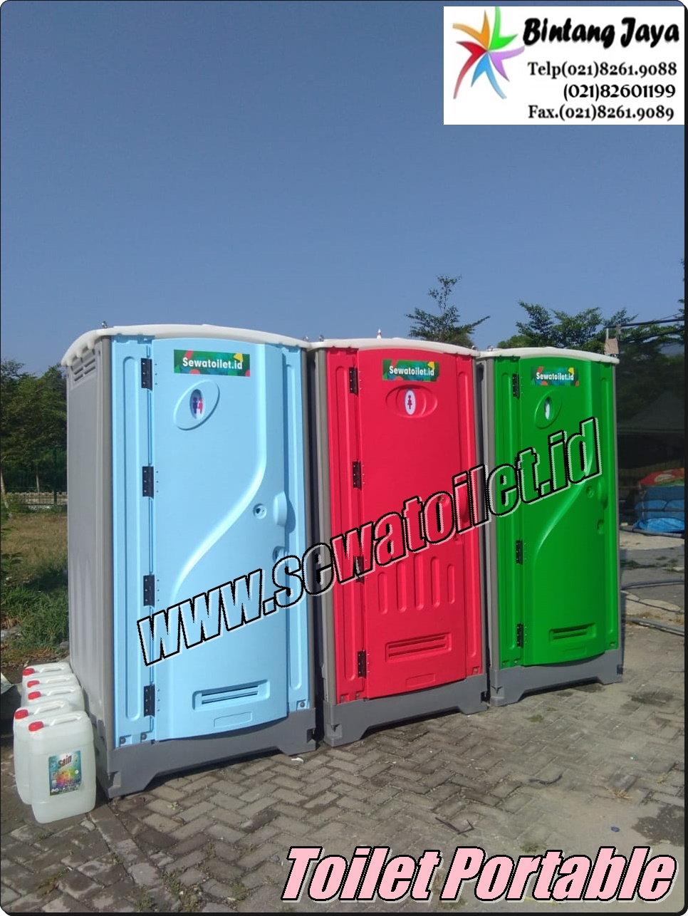 Sewa Toilet Portable Gambir Jakarta Pusat