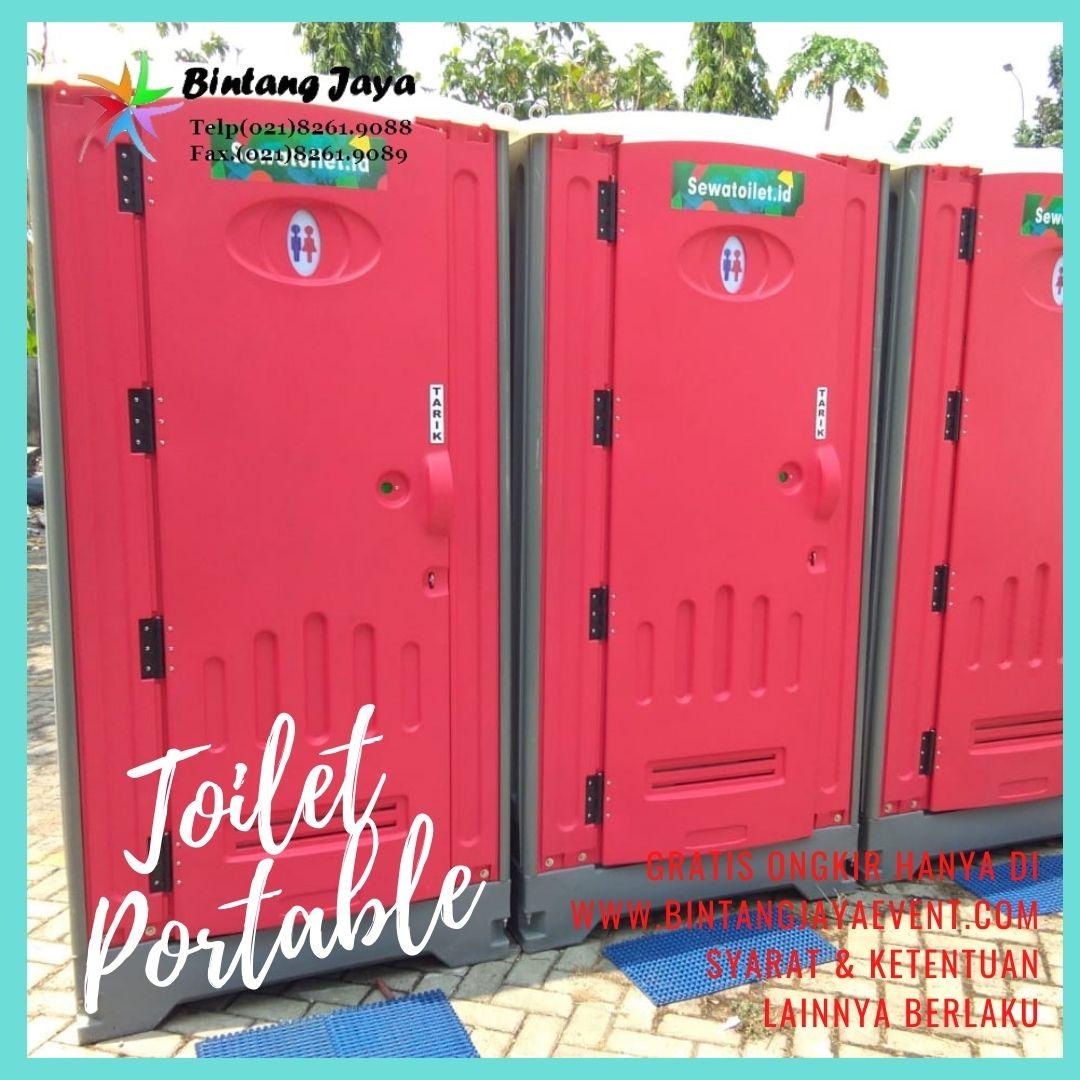 Sewa Toilet Portable Jongkok Super Murah Pelayanan Full 24 Jam