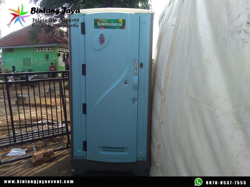 Rental Toilet Portable Jongkok Bersih Terawat Super Murah