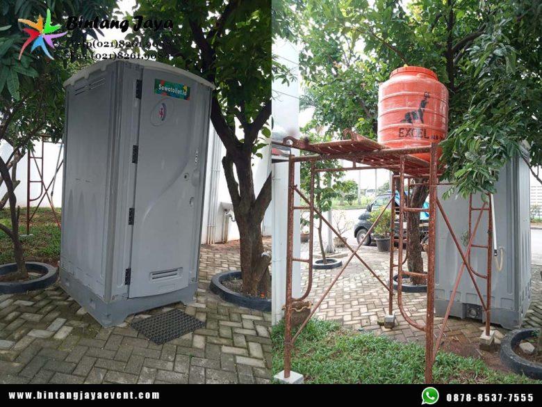 Sewa Toilet Portable Harian Mingguan Bulanan Bersih Kualitas Terbaik Pelayanan 24 Jam