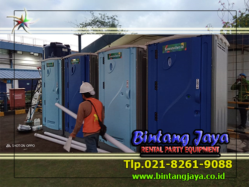 Sewa Toilet Portable Tol Kukusan Program Vaksinasi Gotong-royong