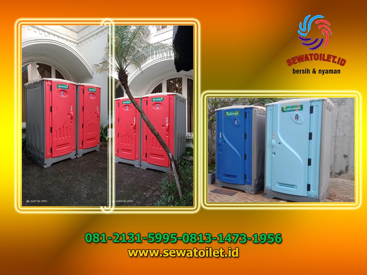 Sewa WC atau Toilet Portable di Kebon Sirih 2 Jakarta