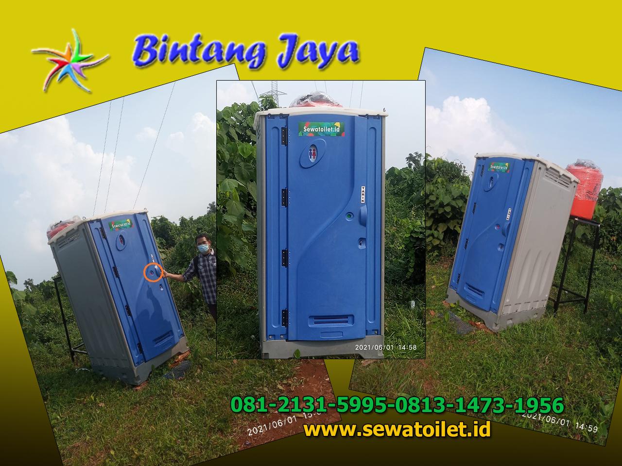 Sewa Toilet Portable Murah Bersih Jakarta