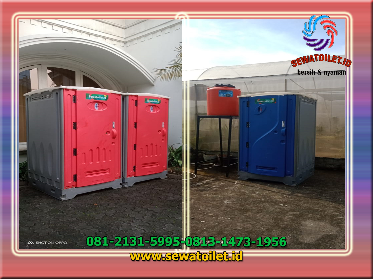 Jasa Sewa Toilet Portable Bersih Harum di Tangerang