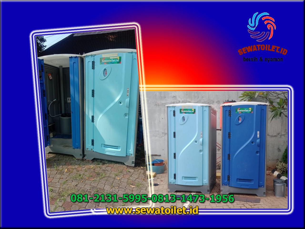 Sewa Toilet Portable Vaksinasi Karyawan PT.Charoen Pokphen Ancol