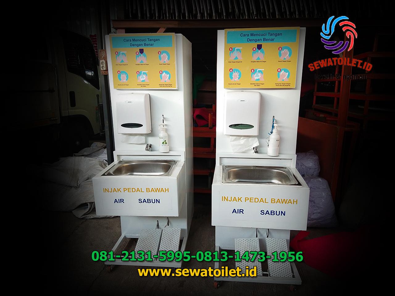 Sewa Wastafel Dan Toilet Portable Untuk Acara Vaksinasi Nasional Dan Gotong-royong