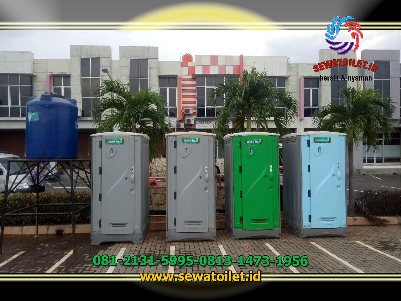 Sewa Toilet Portable Acara Vaksin Johar Baru Jakarta Pusat