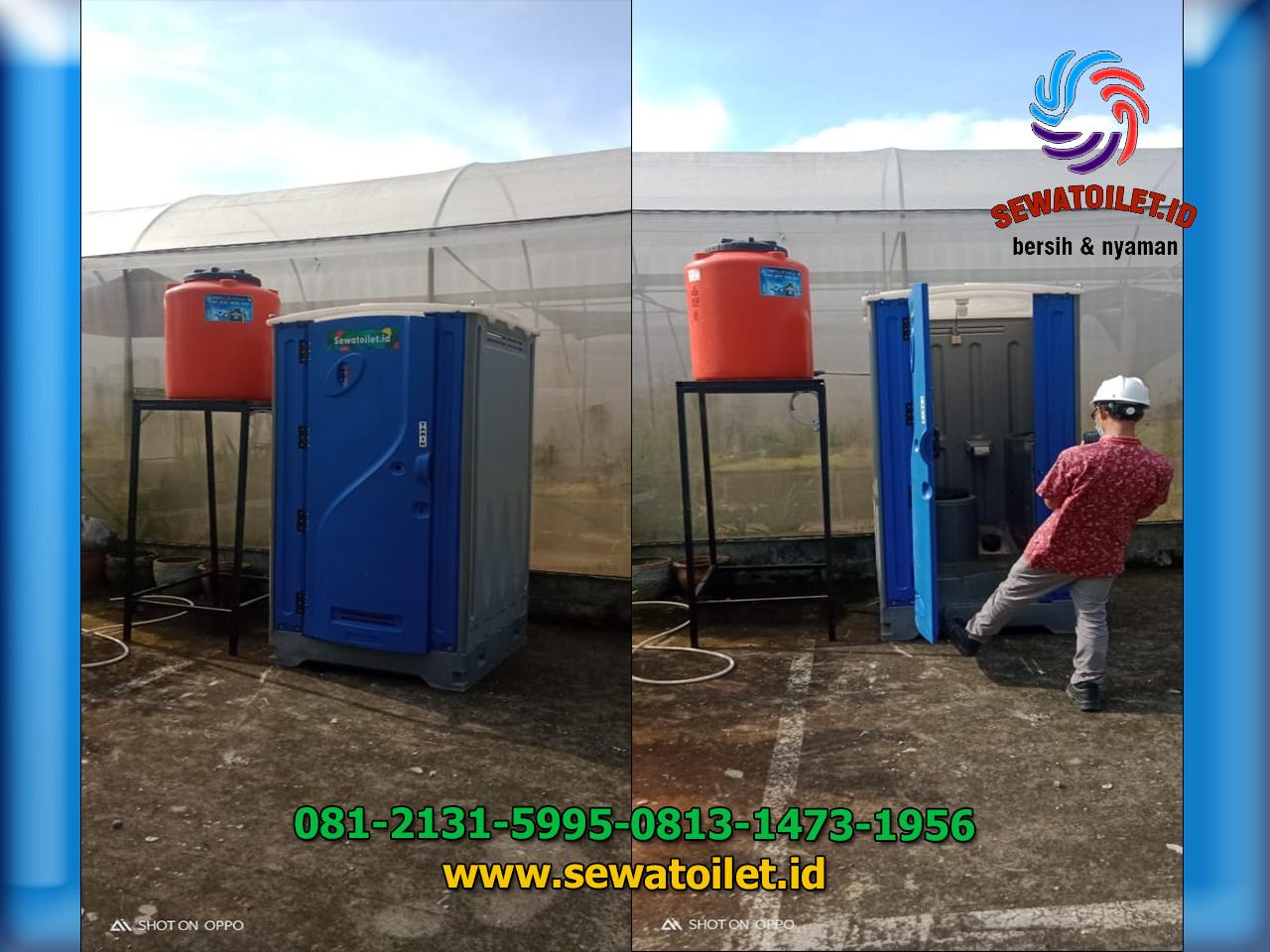 Sewa Toilet Portable Acara PT.East West Seed Indonesia Purwakarta