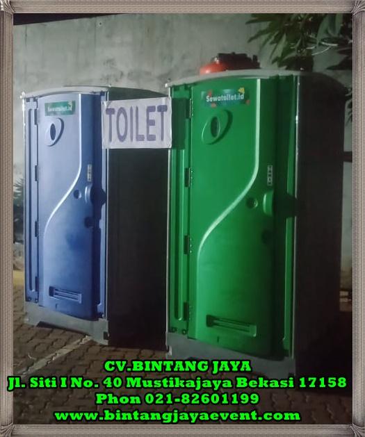 Sewa Toilet Portable Bersih Murah Berkualitas