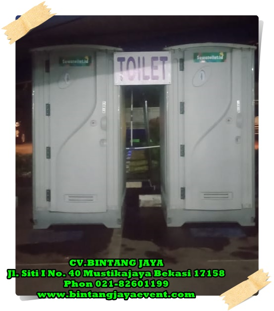 Rental Toilet Bersih Murah